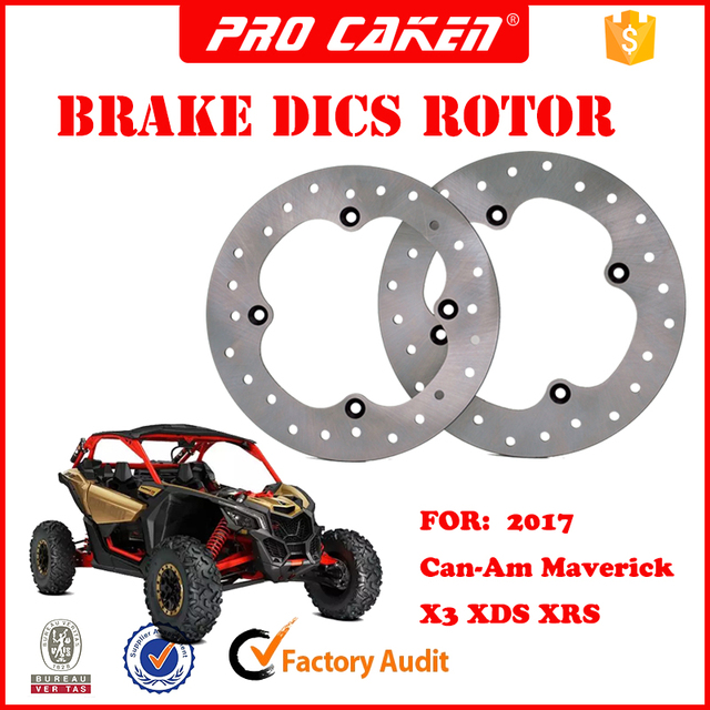Brp Can Am >> 1pices Front Rear Brake Disc Disk Rotor For Brp Can Am Maverick X3