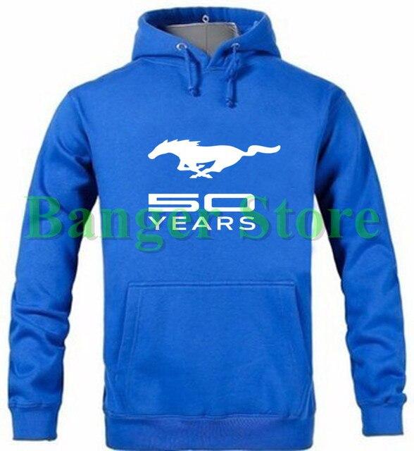 Unisex Mustang pullover hoodie Mustang sweatshirts-in Hoodies ... 42778285bb
