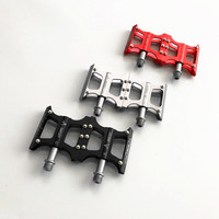 Bicycle Pedal Chrome Molybdenum Steel Mountain Bike Pedal Road Bike 3 Color Pedal Bike Pedal Bike