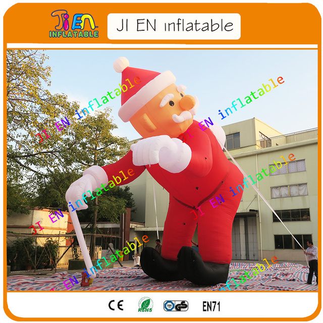 2017 new design large outdoor christmas decorations inflatable santa claus,giant  inflatable christmas old man - 2017 New Design Large Outdoor Christmas Decorations Inflatable Santa