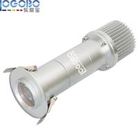 Дешевые 20 Вт DJ Свадебные встраиваемые гобо свет проекторы настенные светильники светодиодные Лестницы разряда шаг лампы дорожки зал огни,