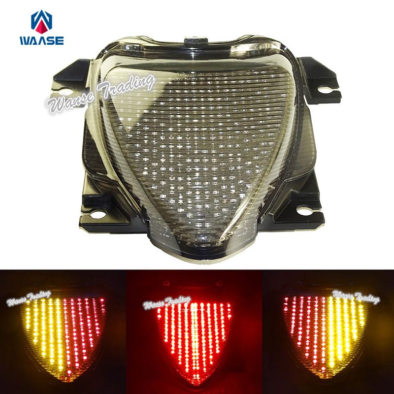 waase For Suzuki Boulevard M109R VZR1800 M1800R 2006 2007-2016 E-Mark Rear Tail Light Brake Turn Signals Integrated LED Light 2018 autumn winter boys sweaters fashion blue kids knit pullovers jumper solid long sleeve toddler knitwear top children clothes page 2