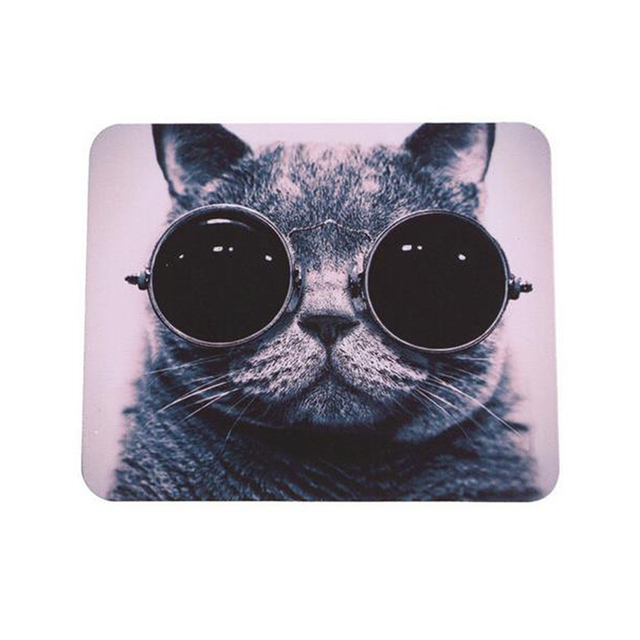 Cat Printed Mouse Pad