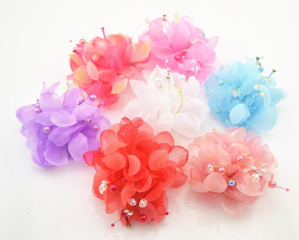 2016 New Beauty Flower Hairpins Children Hair Accessories Girls Hair Barrettes Children Accessories Baby Hair Clip