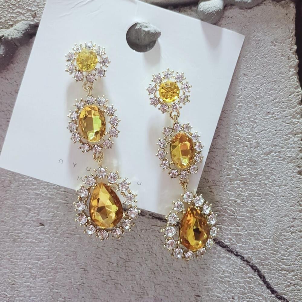 5069c35b40 AOMU New Korea BLACKPINK JENNIE Waterdrop Crystal ...
