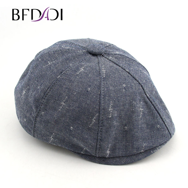BFDADI 2018 New Arrival Vintage Fashion Octagonal Cap s