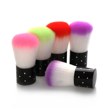 Random Color!! 1 PC Women Lady Colorful Vogue Nail Brush For