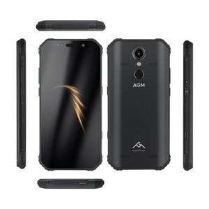 "Image 3 - (מתנה חינם) רשמי AGM A9 5.99 ""FHD + 4G + 64G אנדרואיד 8.1 Smartphone 5400mAh סוללה IP68 עמיד למים quad תיבת רמקולים NFC OTG"