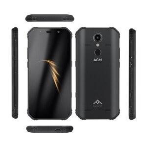 """Image 3 - (Dom gratuito) OFICIAL AGM A9 5.99 """"FHD + 4G + IP68 64G Android 8.1 do Smartphone 5400mAh Bateria À Prova D Água quad Box Falantes NFC OTG"""