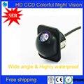 100% CCD HD Carro câmera de visão Traseira HD CCD carro Universal retrovisor invertendo câmera de estacionamento De Backup para todos os tipos de carros Promoção