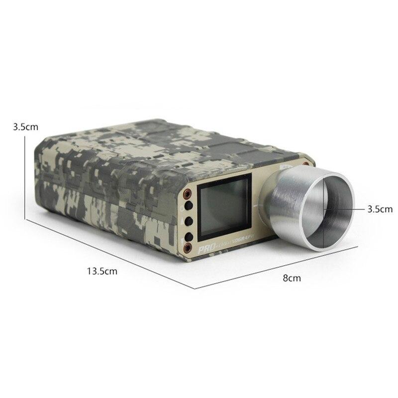Camouflage chasse Airsoft BB tir chronographe testeur de vitesse accessoires de chasse - 4
