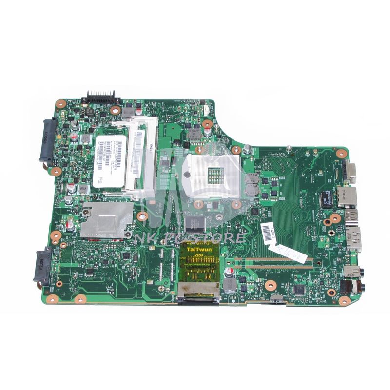 NOKOTION V000198150 Main Board For Toshiba Salellite A500 A505 Laptop Motherboard HM55 DDR3 Free cpu цена
