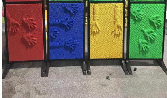 The new children's toys clap clap pushing rod wand hand push type toys wall game board indoor playground castle maze accessories saint petersburg board game cards game 2 5 players family toys game for children with parents indoor games