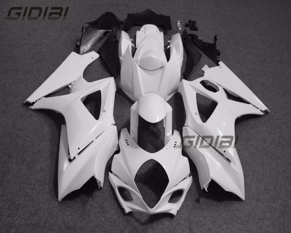 Unpainted ABS Injection Mold Bodywork Fairing Kit For <font><b>SUZUKI</b></font> <font><b>GSXR1000</b></font> <font><b>K7</b></font> 2007 2008 07 08 +4 Gift image