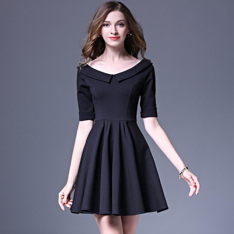 Чёрное платье фото для школы