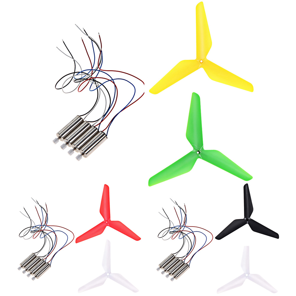 4Pcs Replacement RC Drone Quadcopter Motor 4Pcs Upgrade