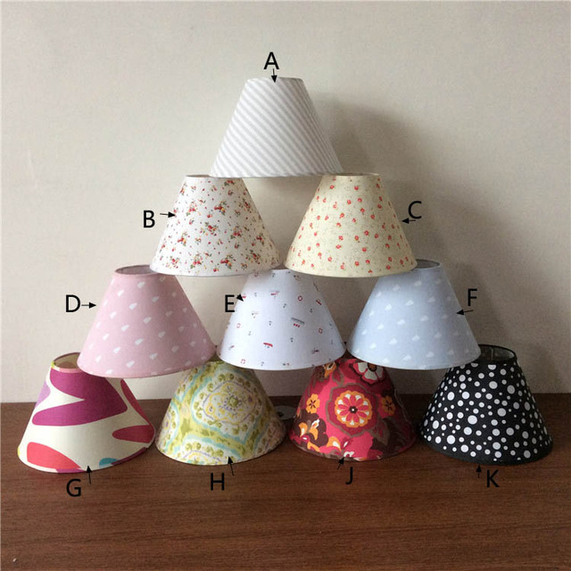 Aliexpress.com : Buy 10 pcs E14 handmade classic decorative lamp shades for table lamps fabric ...
