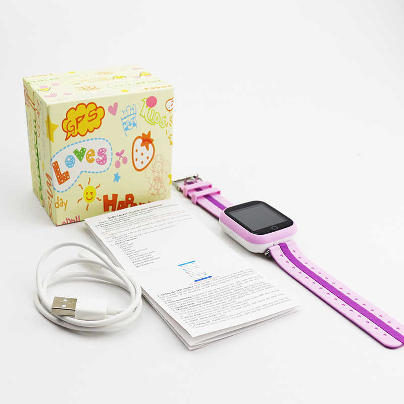Q750 GPS Location Tracker Smart Watch Phone for Kids Children Baby SIM Wifi 1.54' Touch Screen SOS Child Calling Vibrating Watch