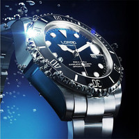 LOREO Men S Watches Automatic Mechanical Watch Luxury Wrist Watch Full Stainless Steel Strap Classic Relogio