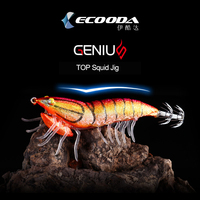 Angler Dream ECOODA Squid Hook Lure 92cm 20g Sinking Squid Jigs Fishing Lures Artificial Hard Fishing Baits