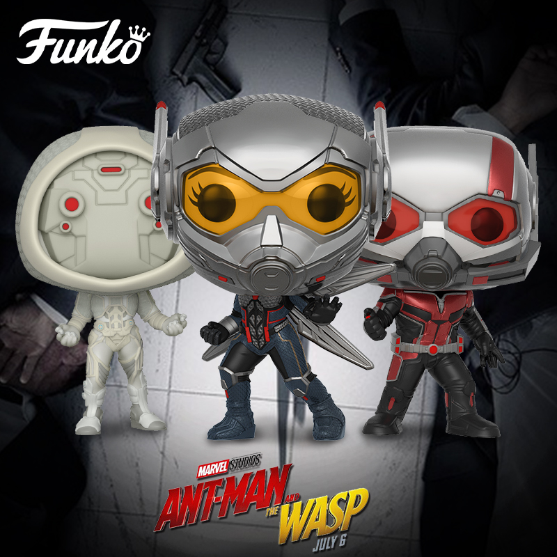 US $23 1 20% OFF|Funko pop Marvel Theme Ant Man And The Wasp Ghost Action  Figure Model Toy Friend Boy Girl Birthday Party Gift With Original Box-in
