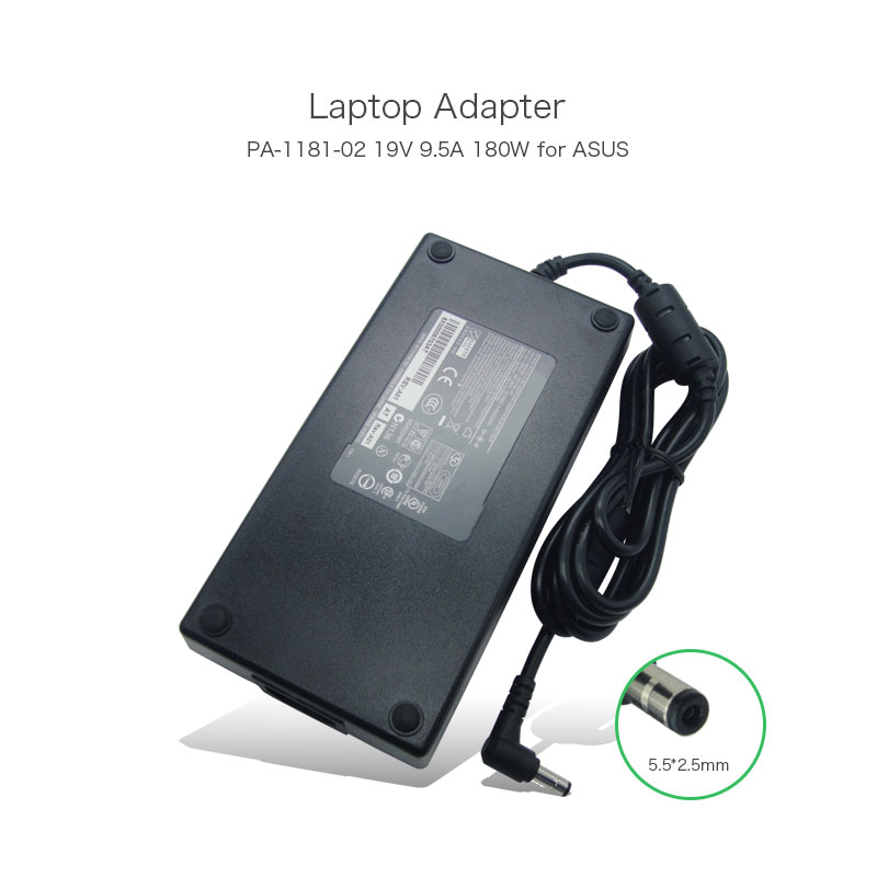PA-1181-02 19V 9.5A 180W Laptop Power Adapter for Asus G46VX G55VW G75VW G75VX ADP-180HB ADP-180EB D ADP-180HB D AC Charger 19v 9 5a 180w adapter adp 180hb b for msi gt60 gt70 power charger for asus g55vw g75vw g75vx g750 g750jw g750jx