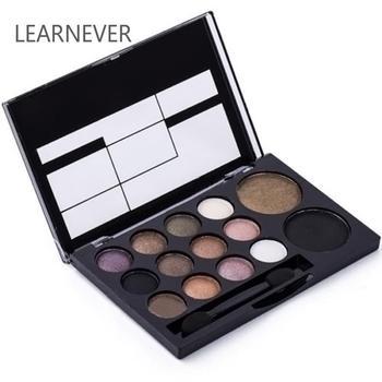 Cores Paleta de Sombra Neutra Nu 14 Matte Shimmer Smoky Glitter Sombra Pigmento Da Sombra de Olho Cosméticos de Maquiagem Profissional