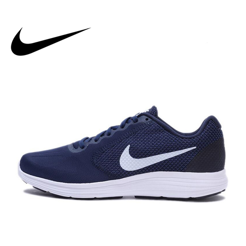 Original Official Nike REVOLUTION 3 Breathable Mens Running Shoes Sports Sneakers Outdoor Walking Jogging Athletic 819300Original Official Nike REVOLUTION 3 Breathable Mens Running Shoes Sports Sneakers Outdoor Walking Jogging Athletic 819300