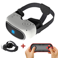 All-in-one 3D VR BOX Virtual Reality HD Head Mount Headset Quad Core Immersive Glasses Android Wifi/Bluetooth Google Cardboard