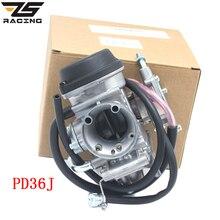 ZS سباق الدراجات النارية 36 مللي متر PD36J المكربن Carburador رباعية ATV KFX 400 KFX400 2003 ~ 2006 UTV LTZ 400 LTZ400 Raptor 400