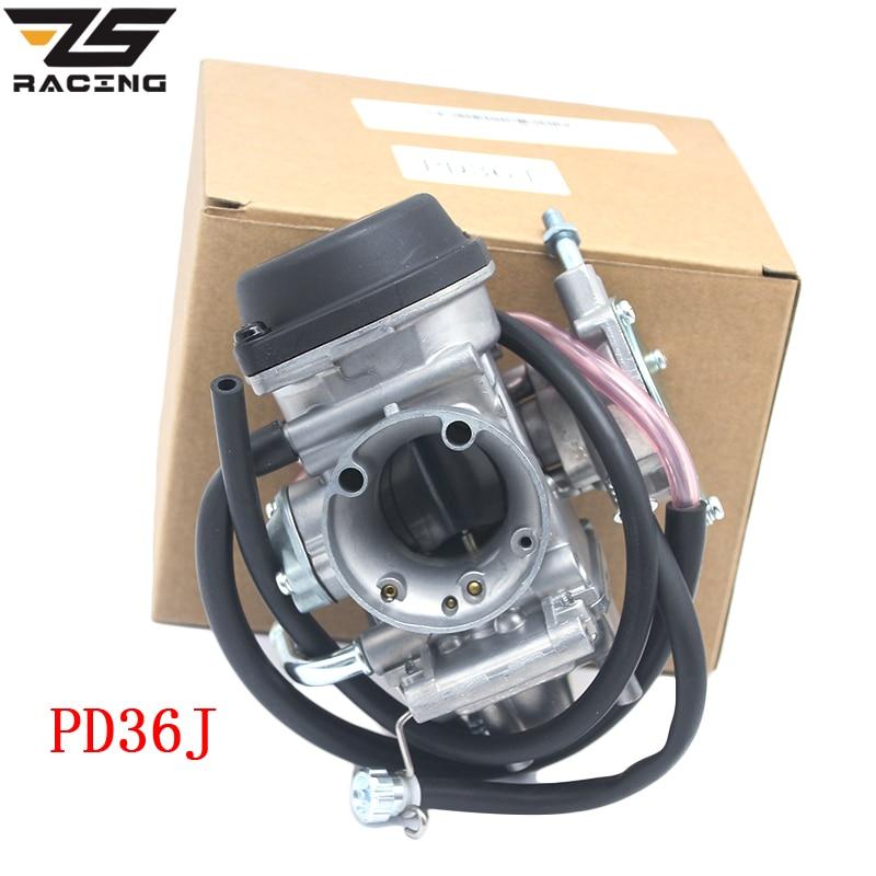 ZS Racing Moto 36mm PD36J Carburateur Carburador QUAD ATV KFX 400 KFX400 2003 ~ 2006 UTV LTZ 400 LTZ400 raptor 400