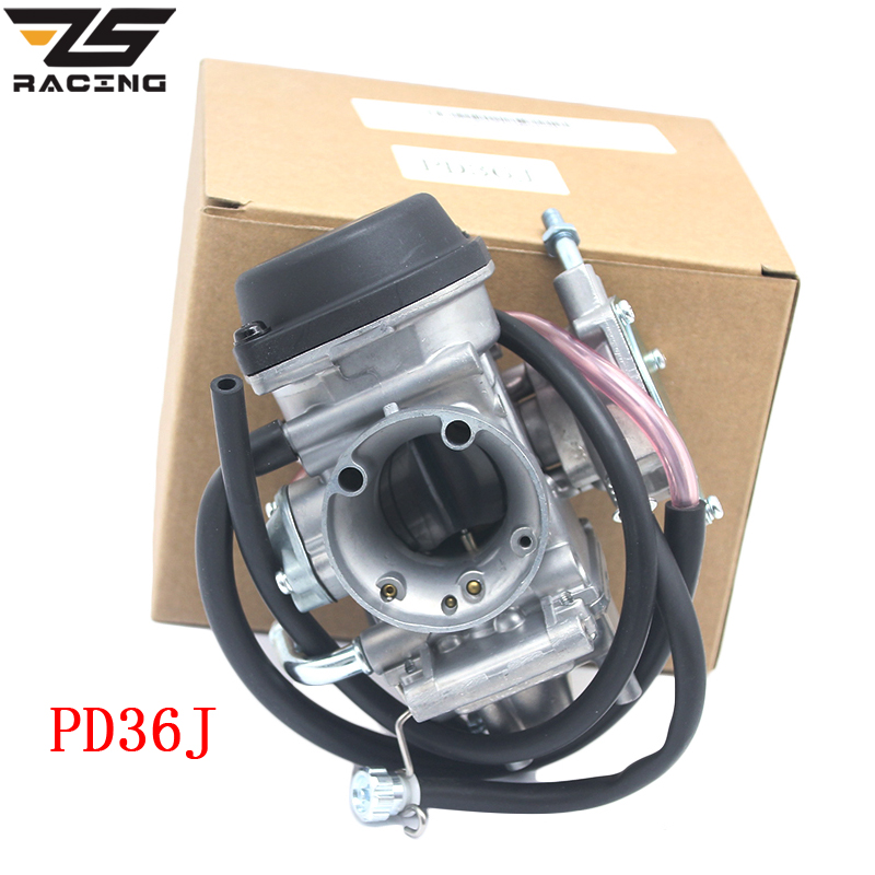 ZS Racing Moto 36mm PD36J Carburateur Carburador QUAD ATV KFX 400 KFX400 2003 ~ 2006 UTV LTZ 400 LTZ400 Raptor 400