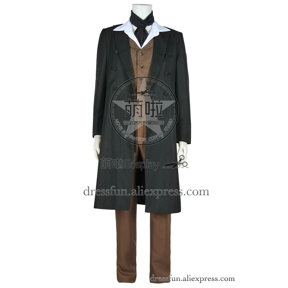 Who is Doctor Cosplay The 8th Eighth Costume Coat Vest Pants Shirt Halloween New