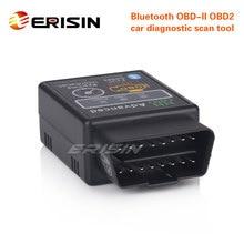Erisin ES360 Bluetooth V1.5 OBD2 инструмент для диагностического сканирования автомобиля