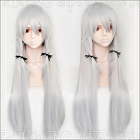Anime Tonari no Kyuuketsuki san Sophie Twilight Cosplay Wigs 100cm Long Heat Resistant Synthetic Hair Wig + Wig Cap+ Headwears