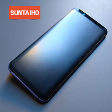 Suntaiho Matte Note 9 Tempered Glass For Samsung Galaxy S9 Fingerprint Frosted s8 Screen Protector Note9 note 8 glass