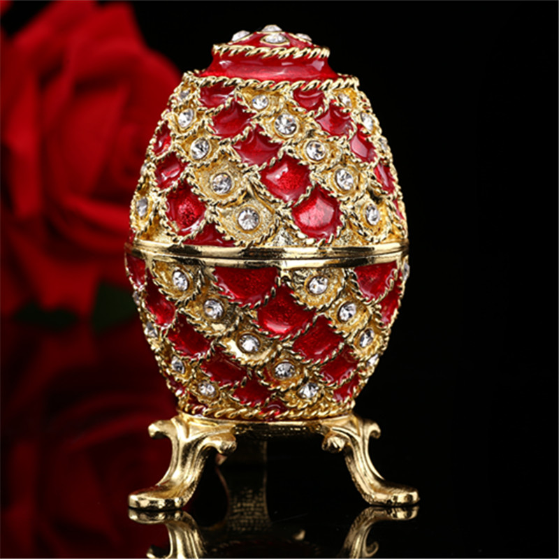 Nieuw Arrive Faberge Egg house ornaments