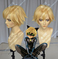IMCOSER Finally discount! Miraculous Ladybug Adrien Cat Noir Cosplay Costume Party Hair Heat Resistant Synthetic Hair
