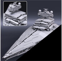 LEPIN 05027 Star 3250Pcs Wars Emperor Fighters Starship Model Building Kit Blocks Bricks Educational DIY Toy
