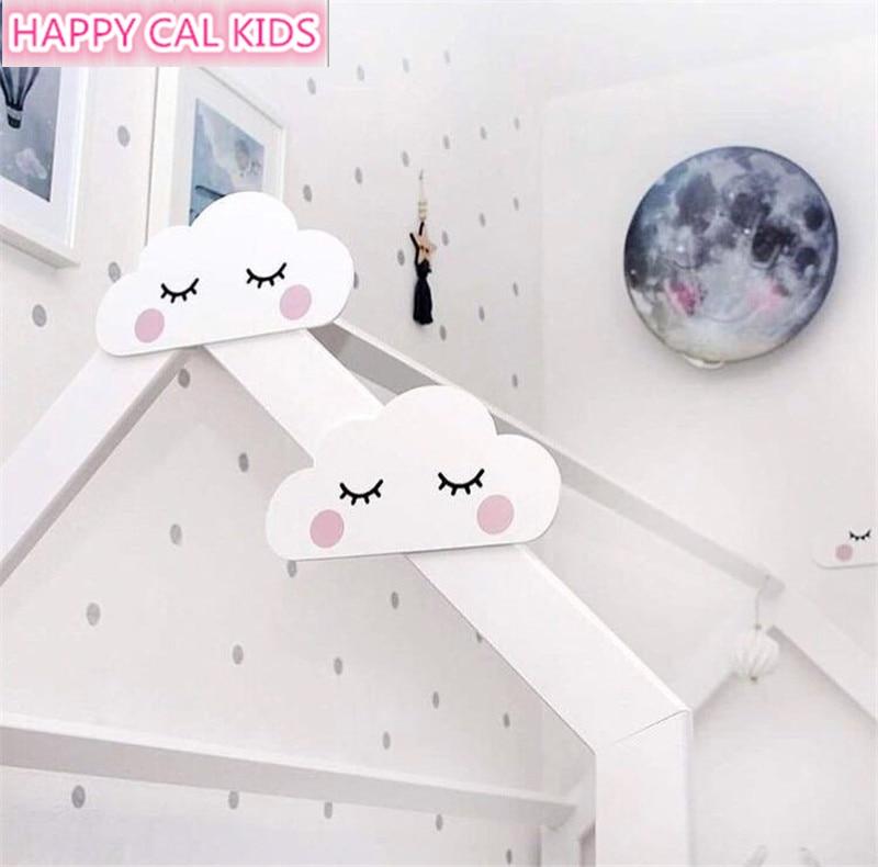 INS Wooden 3d Sleepy Clouds Sweet Dreams Nursery Wall ...
