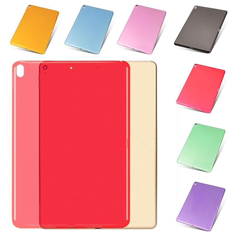 For iPad Pro 10.5 Tpu Soft Back Cover Case for iPad Pro Ultra Thin Transparent Cases for iPad Pro 10.5 Protective Back shell soft case back cover for leeco le pro 3 x720 transparent