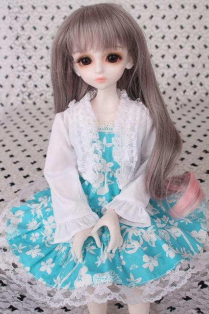 2018 New Arrival 1/3 1/4 1/6 1/8 BJD Doll Dress Clothes SD Volks Dod Sooms Ai Doll Lovely Dress Dolls Accessories  1