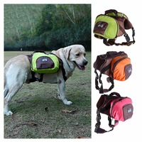 Large Pet Dog Bag Carrier Backpack Saddle Bags Dog Travel Large Capacity Bag Carriers Kuke