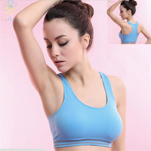 2016 Women Body Shaper Strappy Sports Bra Running Fitness Yoga Gym Teenage Underwear Shockproof Lithe Antibiotic No Slip