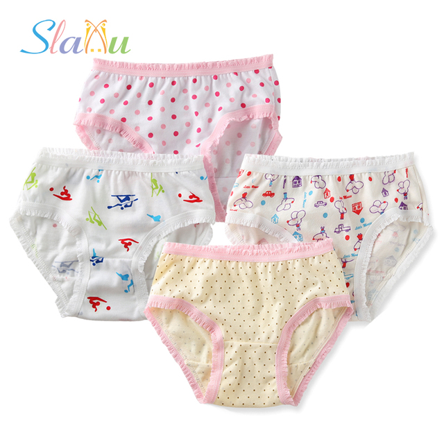 6ad80968cf 12-Pack Organic Cotton Children Underwear High Quality Kids Girls Briefs  Shorts Panties for Baby Clothes Underpants 2-8 y