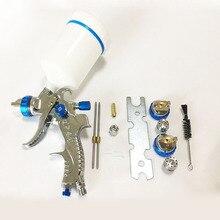 PISTOLA DE PULVERIZACIÓN profesional HVLP, boquilla de acero de 601mm, 1,4mm y 1,7mm, para pintar coches, 2,0
