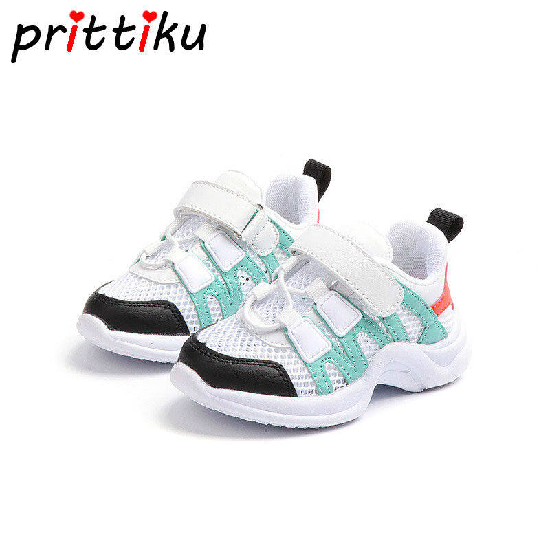 Summer 2018 Baby Toddler Girl Boy Air Mesh Cut Out Breathable Sneakers Little Kid Sport Casual Trainers Children Fashion Shoes