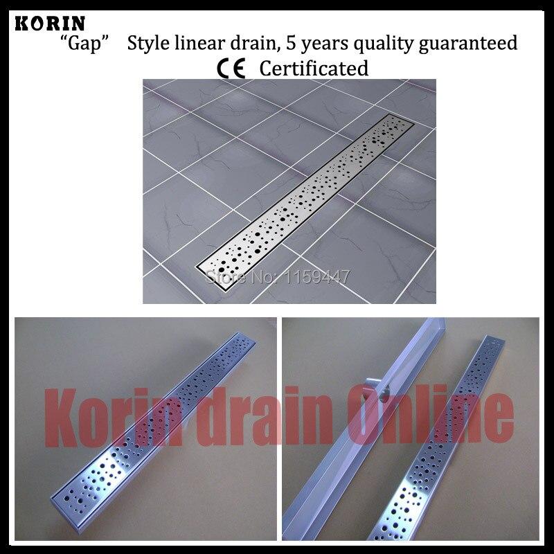 700mm Bubble Style Stainless Steel 304 Linear Shower Drain, Vertical Drain, Floor Waste, Long floor drain, Shower channel