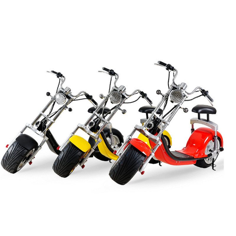 Powerful <font><b>Electric</b></font> Scooter <font><b>1500W</b></font> Citycoco 2 Wheels <font><b>Electric</b></font> <font><b>Bicycles</b></font> 60V Adults <font><b>Electric</b></font> Scooter Motorcycle image