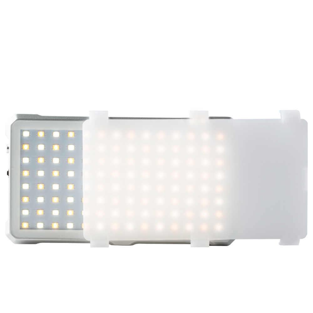 VILTROX FA-D10 Мини Двухцветный видео светодиодный свет портативный заполняющий свет фотография свет для телефона камера съёмка студия YouTube live